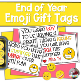 End of Year Emoji Student Gift Tags