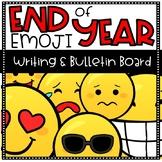 End of Year Emoji Writing and Bulletin Board