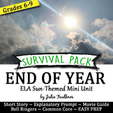 End of Year English Lessons for Teens, BUNDLE #2