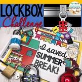 End of Year Enrichment Activity | Lockbox Challenge | Save