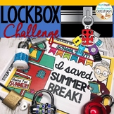 End of Year Activity | Lockbox Challenge | Enrichment | Br