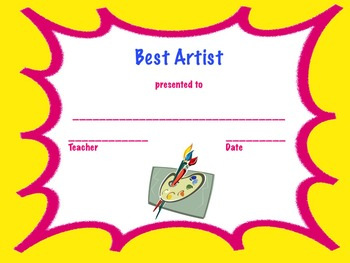 "End of Year Awards ""Est"" Awards (Editable Certificates)"