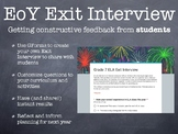 End of Year Exit Interview