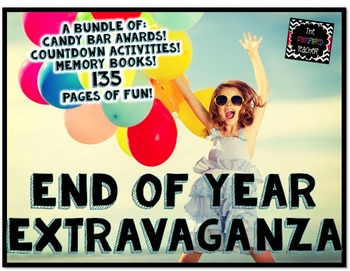 End of Year Extravaganza! Candy Bar Awards, Countdown Acti