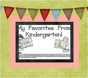 End of Year Favorites From Kindergarten Book