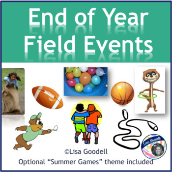 End of Year Field Day Events - Editable (Summer Games Theme Optional)