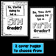 End of Year Fifth Grade Activity