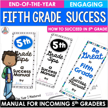 End of the Year Activity Fifth Grade Brochure