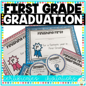 End of Year First Grade Certificates – Editable