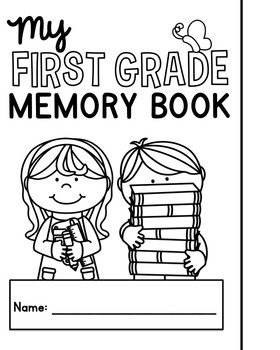 End of Year - First Grade Memory Flip Book
