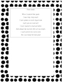 End of Year First Grade Poem