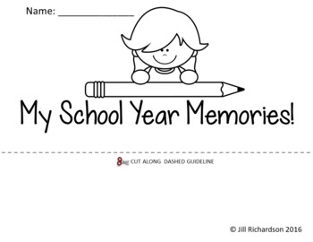 End of Year Flip Book! (Fun End of Year Activity)