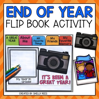 End of the Year Flip Book