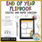 End of Year Memories Activity - Digital Flipbook (Distance