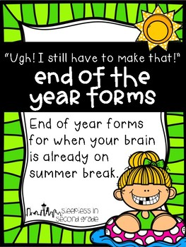 End of Year Forms