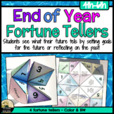 End of Year Counseling Fortune Tellers Activity