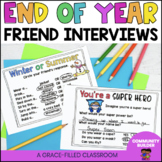 End of Year Friend Interview Mini-Book {1st-3rd grade}