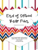 End of Year Fun Activities