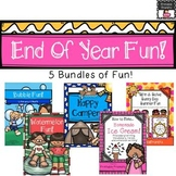 First Grade End of Year Fun Bundle