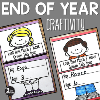 End of Year Fun Craftivity Bundle