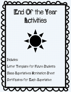 End of Year Fun Pack