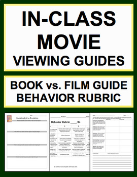 End of Year Fun: Productive Movie Viewing Common Core Aligned