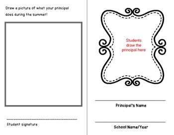 End of Year Fun Stuff: Principal's Report Card