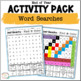 End of Year Activities for Literacy and Math