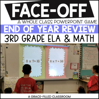 End of Year Game: Shout It Out {3rd Grade}