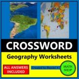World Geography Crossword