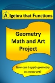 Math Project Geometry and Art *DISTANCE LEARNING