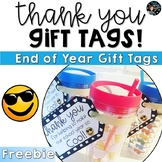 End of Year Gift Tags FREE