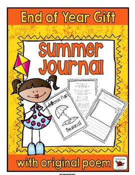 Summer Journal {End of Year Gift}