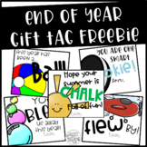 End of Year Gift Tag FREEBIE