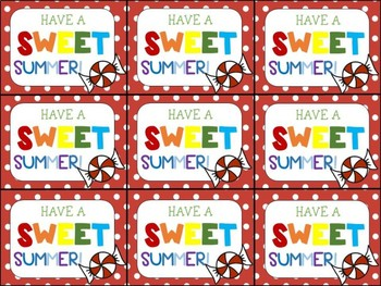 This is a photo of Exhilarating Have a Sweet Summer Printable