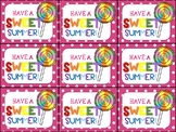 End of Year Gift Tag (Have a Sweet Summer-Lollipop)