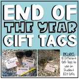 End of Year Gift Tags