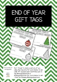 End of Year Gift Tags | Christmas Themed