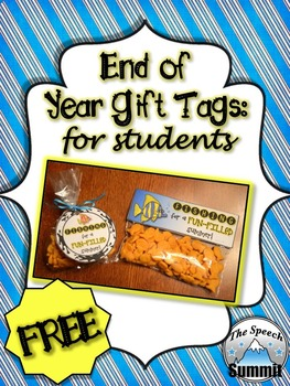 End of Year Gift Tags {FREEBIE}
