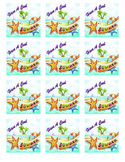 "End of Year Gift Tags ""Have A Cool Summer"" FREE"