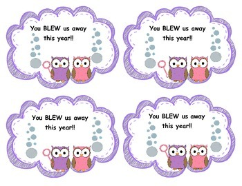 100FollowerFREEBIE End of Year Gift Tags: You BLEW me away this year!!