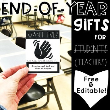End-of-Year Gifts for Students (and teachers) #EOYGiftsforBigKids