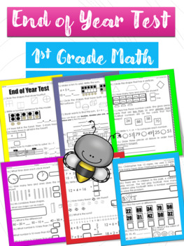 """End of Year """"Go Math Review"""" First Grade"""