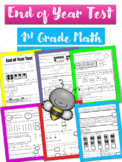 """End of Year Test """"Go Math Review"""" First Grade #jun2018slpmusthave"""