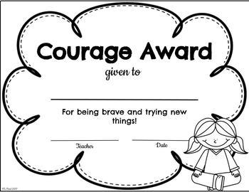 End of Year Good Character Awards {Editable}