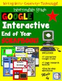 End of Year Google Interactive Scrapbook!