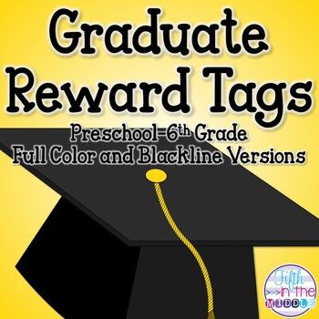 Graduation/End of Year Brag Tags