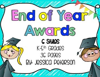 End of Year Graduation Awards