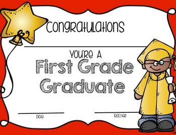 End of Year Graduation Certificates {Melonheadz Edition}