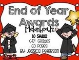 End of Year Graduation Certificates {Melonheadz Edition}